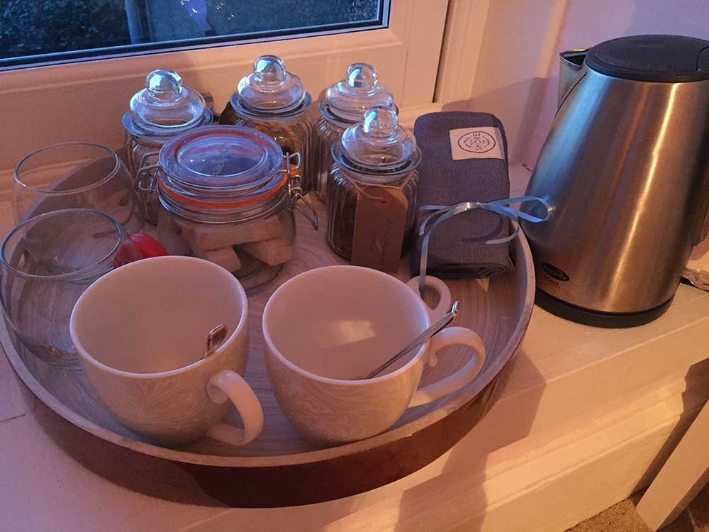 Tea and Coffee Tray, The Sunset