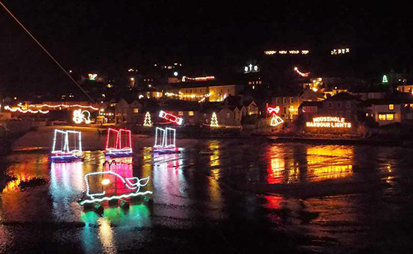 Penmenner B&B The Lizard | Christmas Lights in West Cornwall